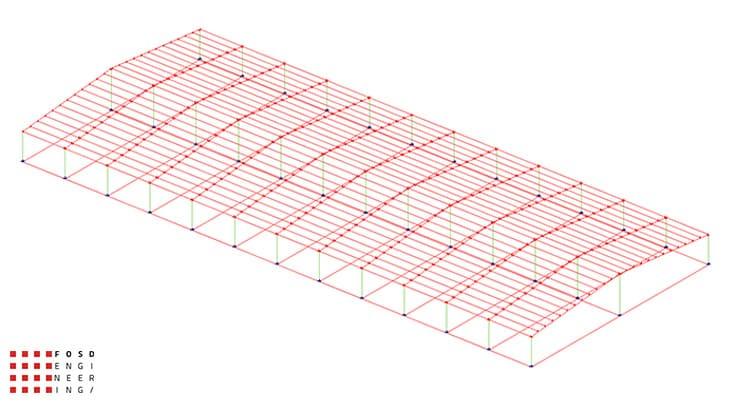 Fosd Engeneering Ingegneria Legno Calcolo Strutturale Progettazione Progetti Edificio Industriale (11)
