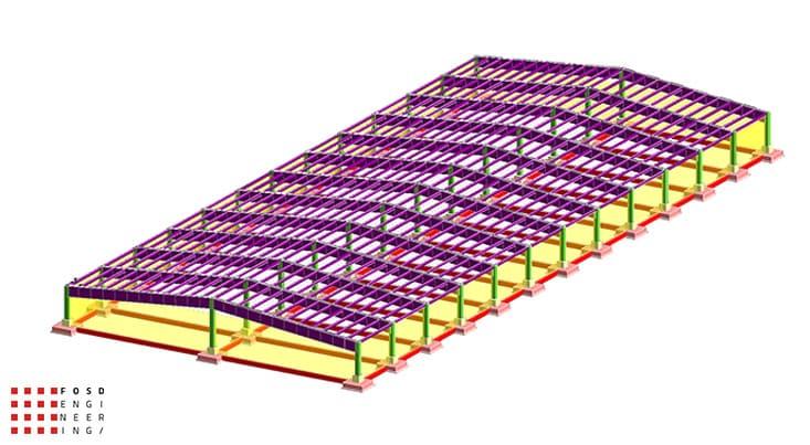 Fosd Engeneering Ingegneria Legno Calcolo Strutturale Progettazione Progetti Edificio Industriale (2)