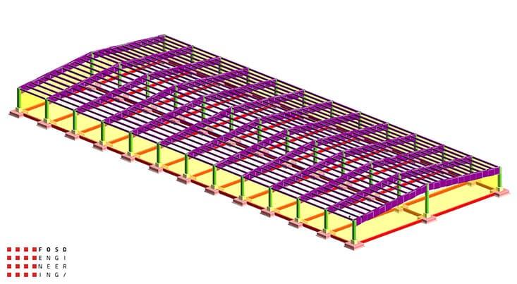 Fosd Engeneering Ingegneria Legno Calcolo Strutturale Progettazione Progetti Edificio Industriale (3)