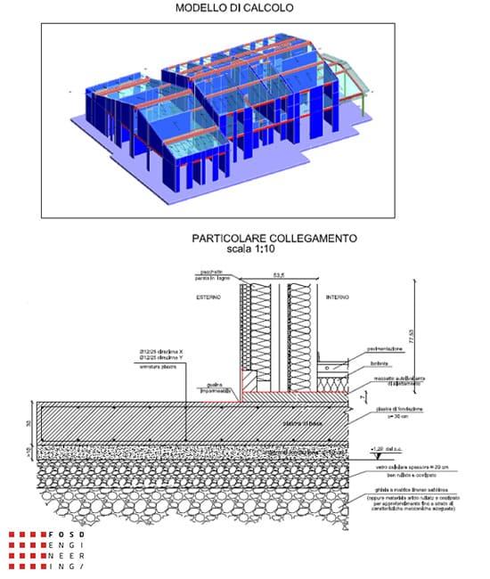 Fosd Engeneering Ingegneria Legno Calcolo Strutturale Progettazione Progetti Villa Giavera del Montello (10)