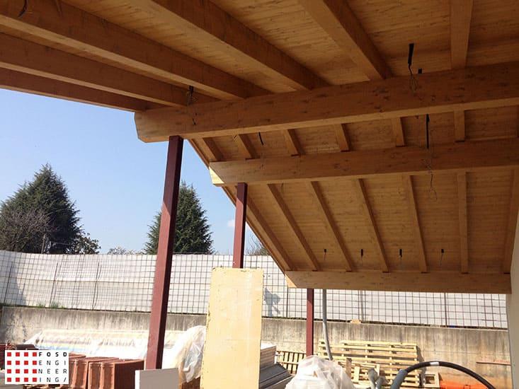Fosd Engeneering Ingegneria Legno Calcolo Strutturale Progettazione Progetti Villa Giavera del Montello (6)