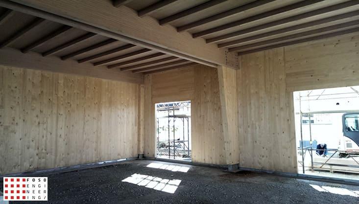 fosd engeneering ingegneria legno calcolo strutturale progettazione progetti 2014 edificio industriale microlamellare rimini 12