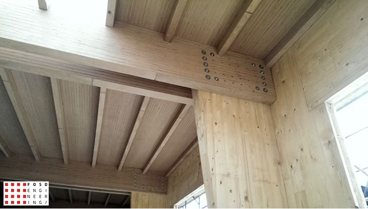 fosd engeneering ingegneria legno calcolo strutturale progettazione progetti 2014 edificio industriale microlamellare rimini 13