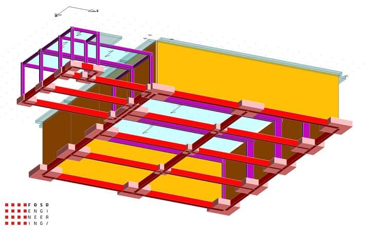 fosd engeneering ingegneria legno calcolo strutturale progettazione progetti 2014 edificio industriale microlamellare rimini 3