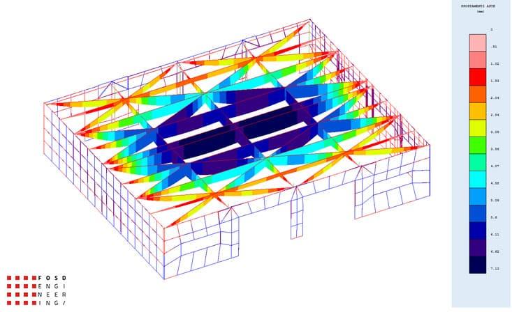 fosd engeneering ingegneria legno calcolo strutturale progettazione progetti 2014 edificio industriale microlamellare rimini 6