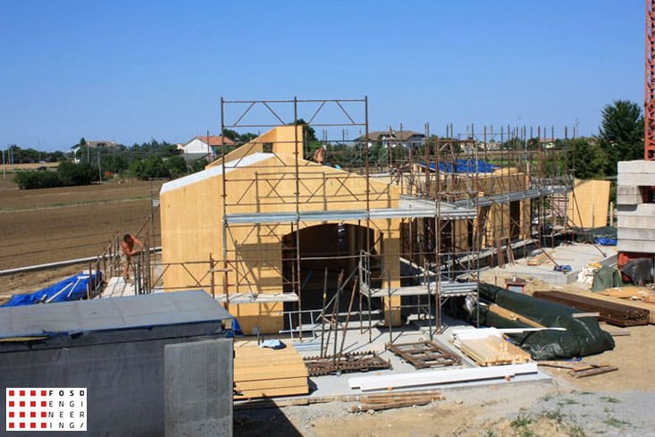 Fosd Engeneering Ingegneria Legno Calcolo Strutturale Progettazione Progetti 2014 Residenziale San Mauro Pascoli (18)