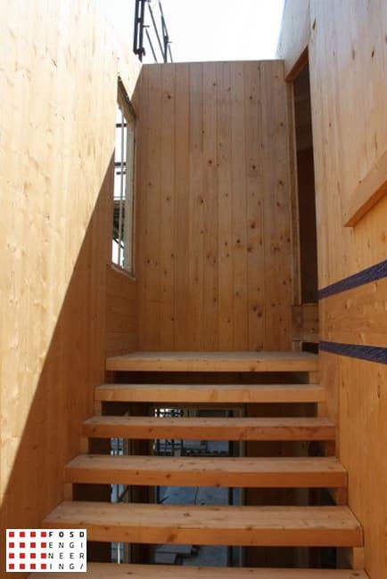 Fosd Engeneering Ingegneria Legno Calcolo Strutturale Progettazione Progetti 2014 Residenziale San Mauro Pascoli (20)