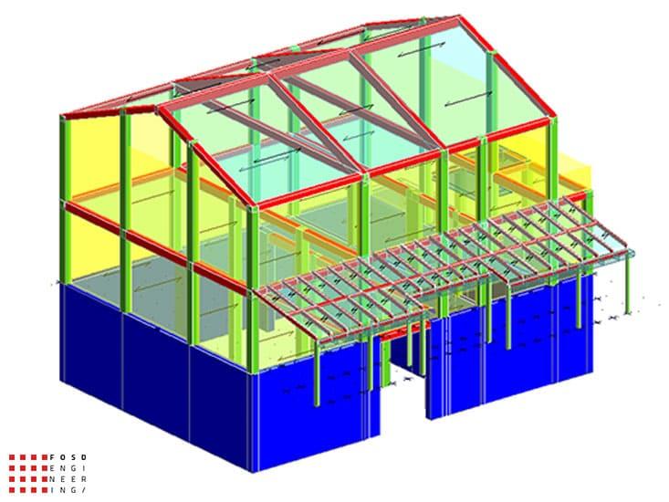 Fosd Engeneering Ingegneria Legno Calcolo Strutturale Progettazione Progetti 2015 Adeguamento sismico fabbricato Ancona (1)