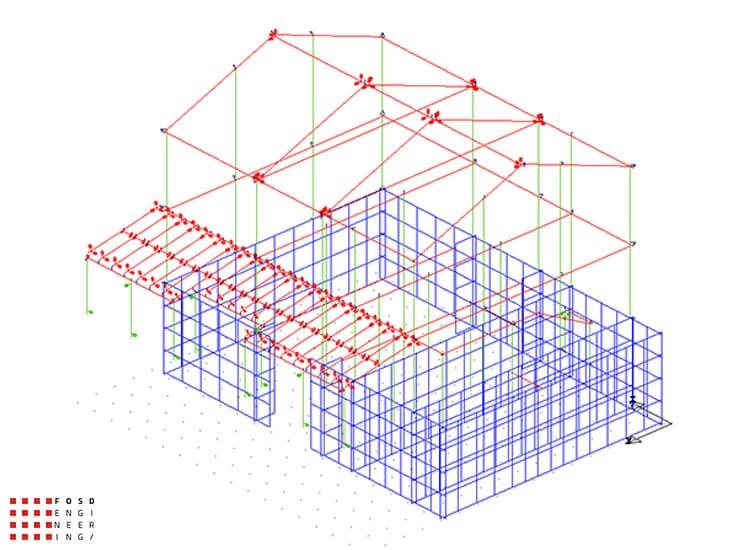 Fosd Engeneering Ingegneria Legno Calcolo Strutturale Progettazione Progetti 2015 Adeguamento sismico fabbricato Ancona (3)