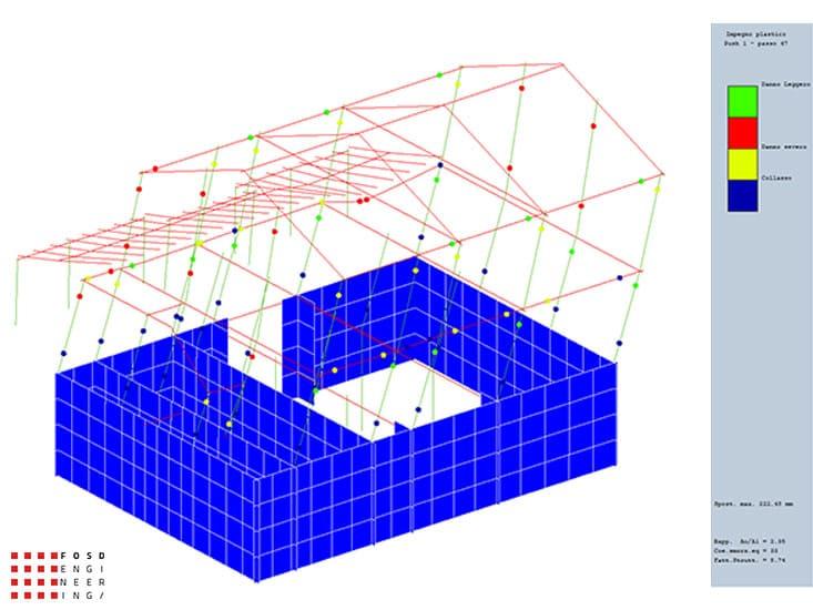 Fosd Engeneering Ingegneria Legno Calcolo Strutturale Progettazione Progetti 2015 Adeguamento sismico fabbricato Ancona (8)