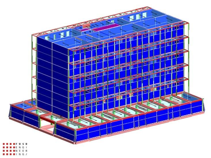 Fosd Engeneering Ingegneria Legno Calcolo Strutturale Progettazione Progetti 2015 Concorso di progettazione Milano (1)