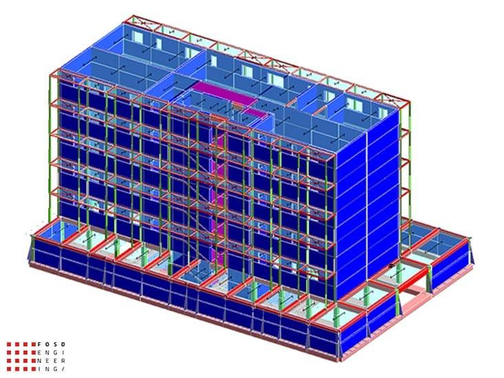 Fosd Engeneering Ingegneria Legno Calcolo Strutturale Progettazione Progetti 2015 Concorso di progettazione Milano (2)