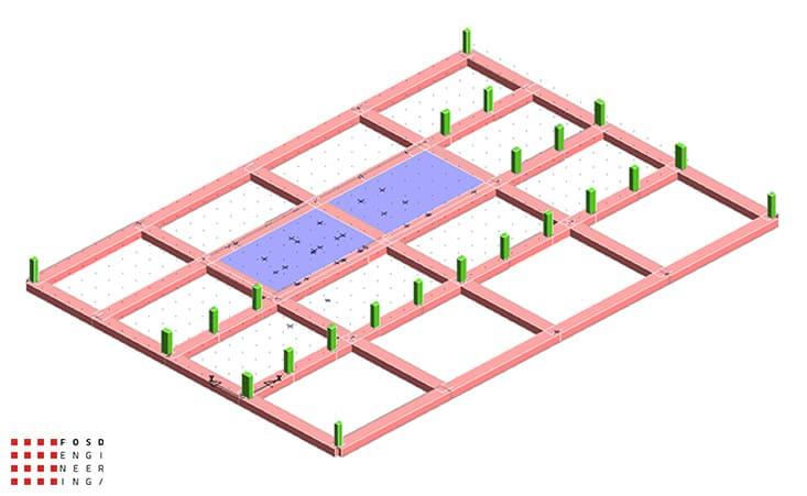 Fosd Engeneering Ingegneria Legno Calcolo Strutturale Progettazione Progetti 2015 Concorso di progettazione Milano (3)