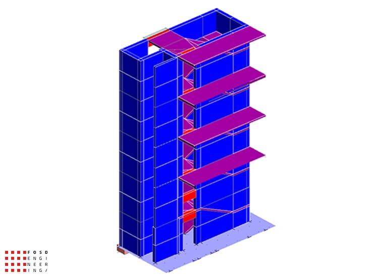 Fosd Engeneering Ingegneria Legno Calcolo Strutturale Progettazione Progetti 2015 Concorso di progettazione Milano (4)