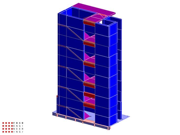 Fosd Engeneering Ingegneria Legno Calcolo Strutturale Progettazione Progetti 2015 Concorso di progettazione Milano (5)