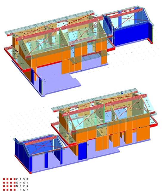 Fosd Engeneering Ingegneria Legno Calcolo Strutturale Progettazione Progetti 2015 Villa di pregio Cervia (5)