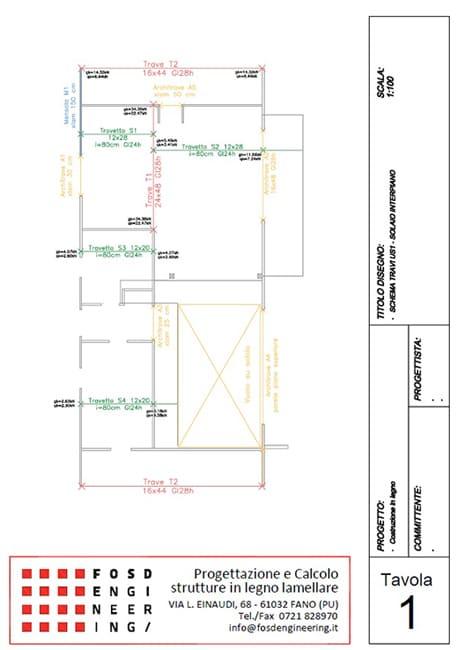 Fosd Engeneering Ingegneria Legno Calcolo Strutturale Progettazione Progetti 2015 Villa di pregio Cervia (7)