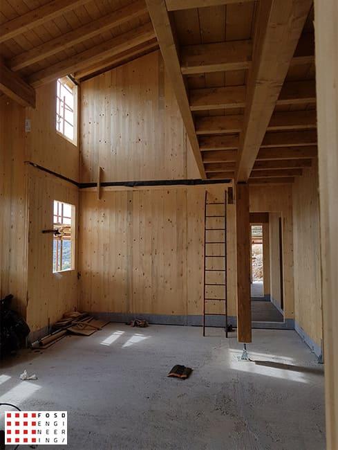 Fosd Engeneering Ingegneria Legno Calcolo Strutturale Progettazione Progetti 2016 Abitazione Comune di Arnasco (2)