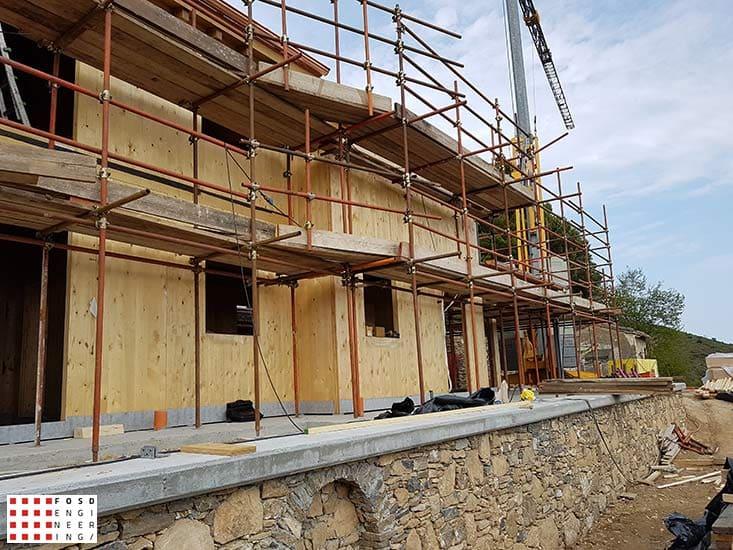 Fosd Engeneering Ingegneria Legno Calcolo Strutturale Progettazione Progetti 2016 Abitazione Comune di Arnasco (4)