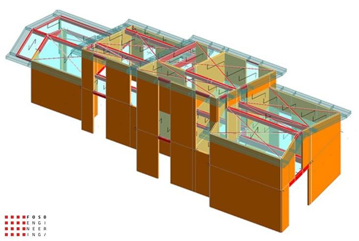 Fosd Engeneering Ingegneria Legno Calcolo Strutturale Progettazione Progetti 2016 Abitazione Comune di Arnasco (6)