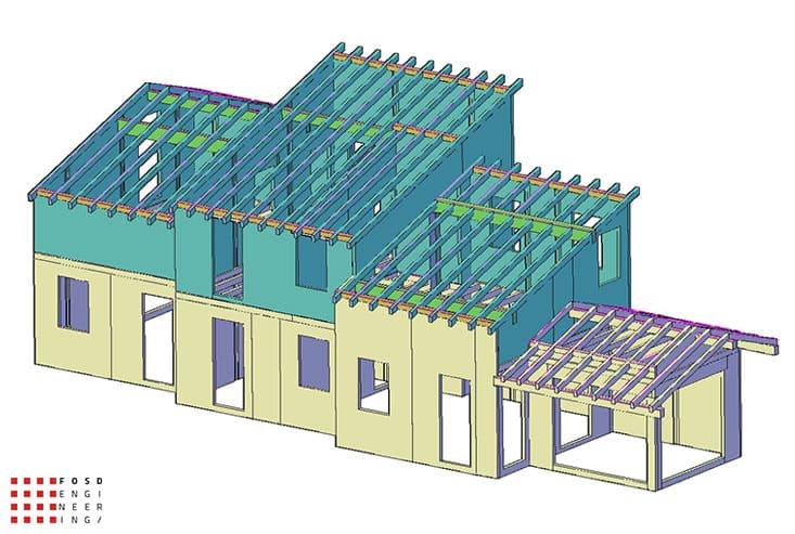 Fosd Engeneering Ingegneria Legno Calcolo Strutturale Progettazione Progetti 2016 Abitazione Comune di Arnasco (7)
