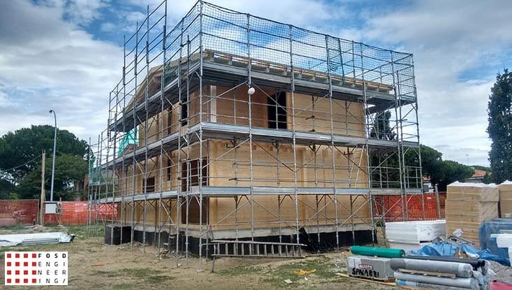 Fosd Engeneering Ingegneria Legno Calcolo Strutturale Progettazione Progetti 2016 Costruzione civile abitazione Ravenna (3)