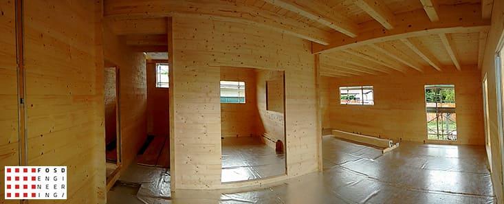 Fosd Engeneering Ingegneria Legno Calcolo Strutturale Progettazione Progetti 2016 Costruzione civile abitazione Ravenna (8)