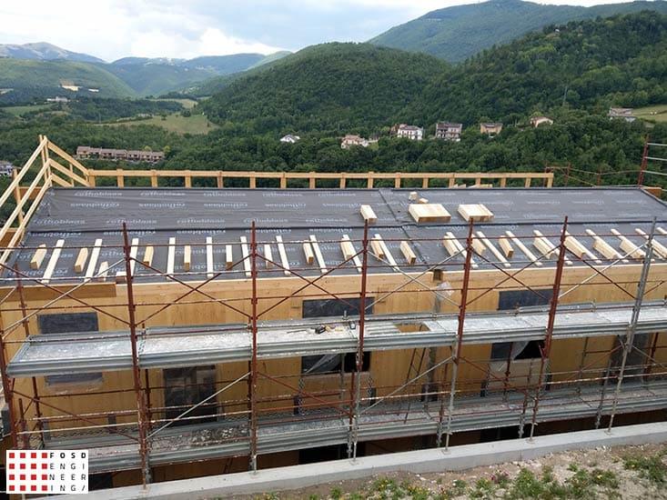 Fosd Engeneering Ingegneria Legno Calcolo Strutturale Progettazione Progetti 2018 Villa Unifamiliare Perugia (11)