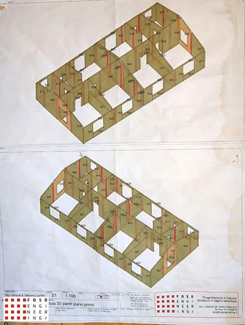 Fosd Engeneering Ingegneria Legno Calcolo Strutturale Progettazione Progetti 2018 Villa Unifamiliare Perugia (7)