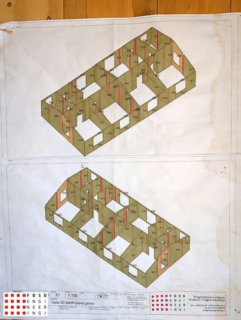 Fosd Engeneering Ingegneria Legno Calcolo Strutturale Progettazione Progetti 2018 Villa Unifamiliare Perugia (8)