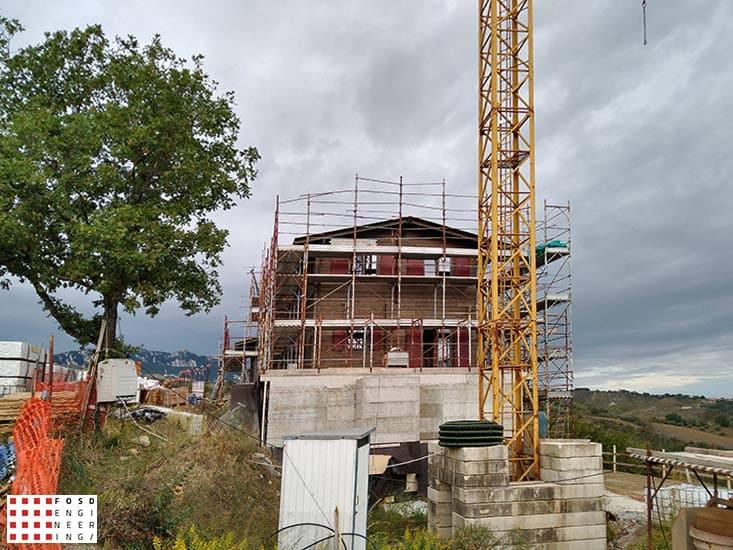 Fosd Engeneering Ingegneria Legno Calcolo Strutturale Progettazione Progetti 2018 Villa unifamiliare Repubblica di San Marino (10)