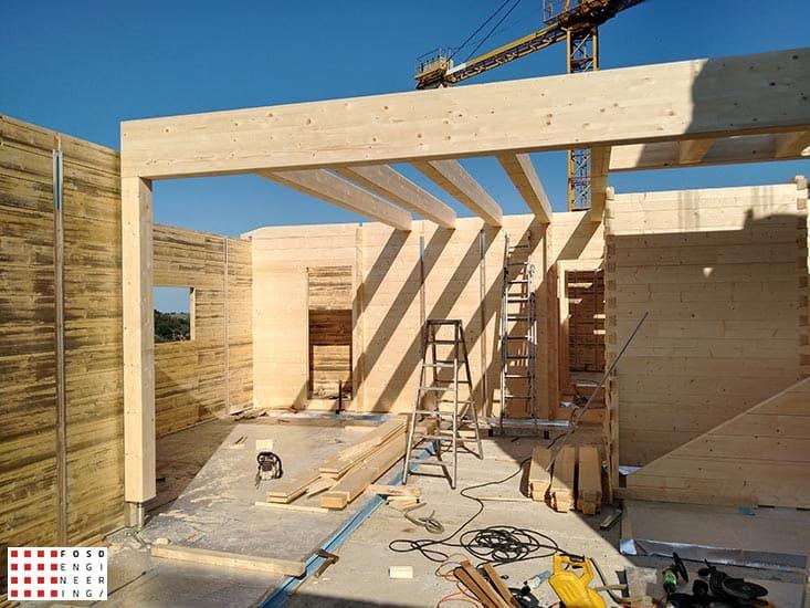Fosd Engeneering Ingegneria Legno Calcolo Strutturale Progettazione Progetti 2018 Villa unifamiliare Repubblica di San Marino (16)