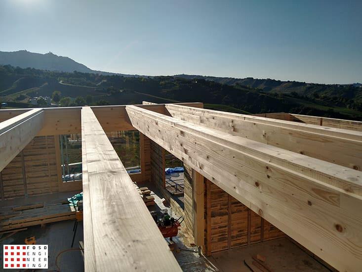 Fosd Engeneering Ingegneria Legno Calcolo Strutturale Progettazione Progetti 2018 Villa unifamiliare Repubblica di San Marino (17)