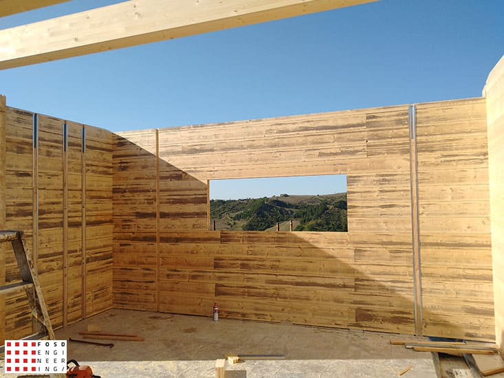 Fosd Engeneering Ingegneria Legno Calcolo Strutturale Progettazione Progetti 2018 Villa unifamiliare Repubblica di San Marino (18)