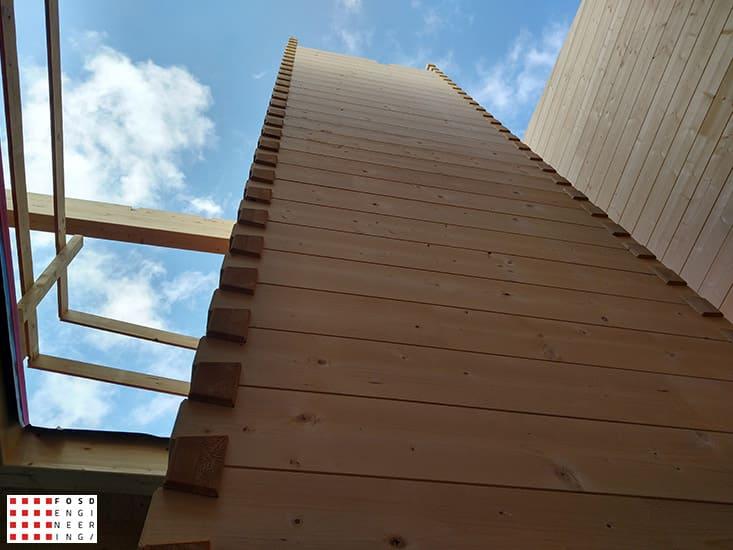 Fosd Engeneering Ingegneria Legno Calcolo Strutturale Progettazione Progetti 2018 Villa unifamiliare Repubblica di San Marino (19)