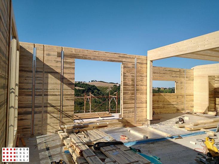 Fosd Engeneering Ingegneria Legno Calcolo Strutturale Progettazione Progetti 2018 Villa unifamiliare Repubblica di San Marino (21)