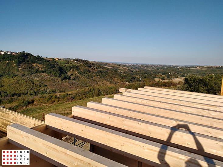 Fosd Engeneering Ingegneria Legno Calcolo Strutturale Progettazione Progetti 2018 Villa unifamiliare Repubblica di San Marino (3)