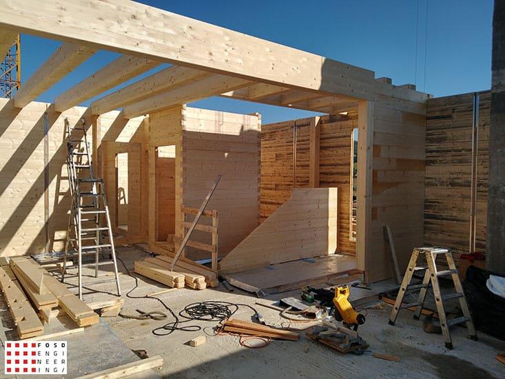 Fosd Engeneering Ingegneria Legno Calcolo Strutturale Progettazione Progetti 2018 Villa unifamiliare Repubblica di San Marino (7)
