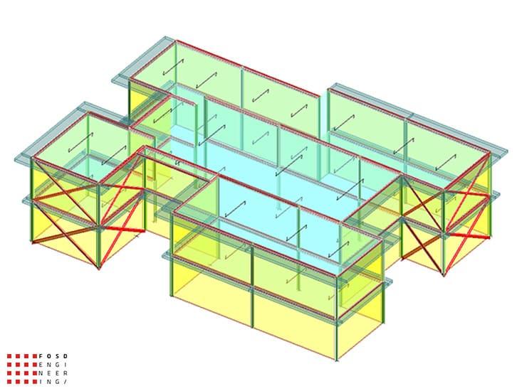 Fosd Engeneering Ingegneria Legno Calcolo Strutturale Progettazione Progetti 2018 scuola collodi ancona16