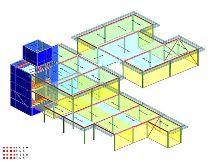 Fosd Engeneering Ingegneria Legno Calcolo Strutturale Progettazione Progetti 2018 scuola collodi ancona17