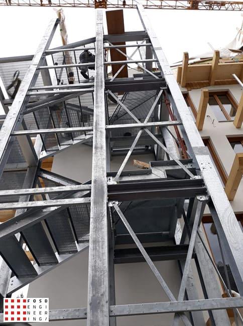 Fosd Engeneering Ingegneria Legno Calcolo Strutturale Progettazione Progetti 2019 scala di sicurezza hotel2